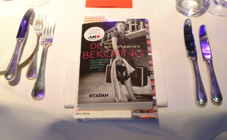 MetService organisator AKO literatuurprijs uitreiking 2006